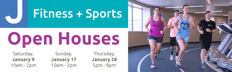 Jewish Community Center Fitness & Sports Open Houses 2016