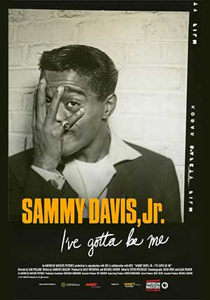 Sammy Davis Jr. I've Gotta Be Me Poster - April 29 at the Kansas City Jewish Film Festival