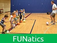 FUNatics Preschool & Kindergarten Sports Classes at The J