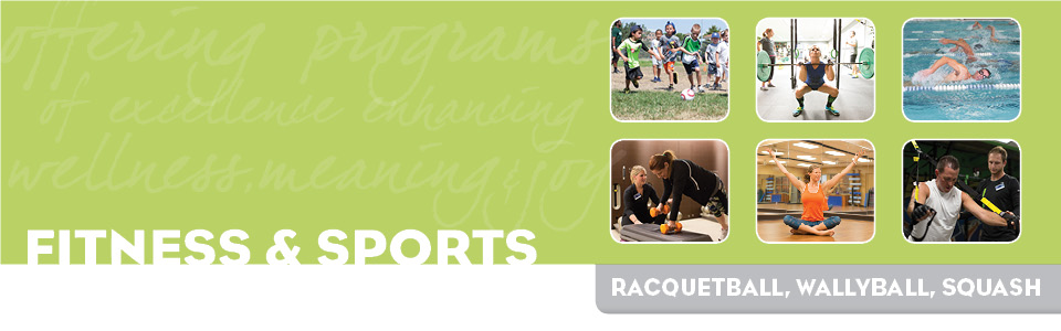 Fitness & Sports: Adult Sports - Racquetball, Squash & Wallyball
